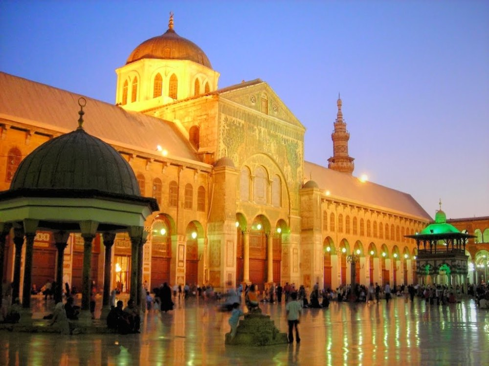 Masjid Umayyad Damascus