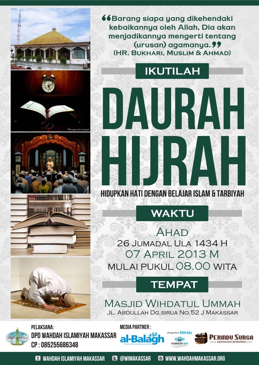 Daurah Hijrah Jumadil Ula 1434 H