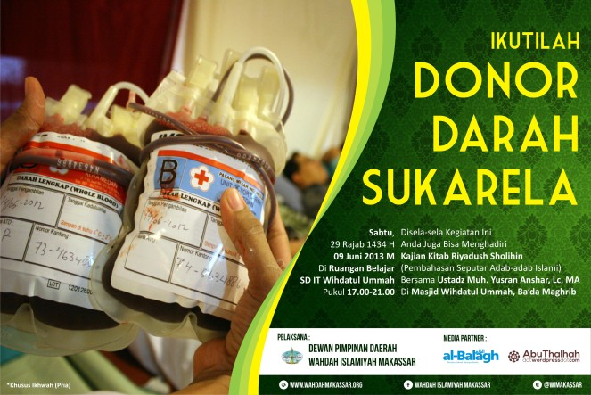 Pamplet Donor Darah
