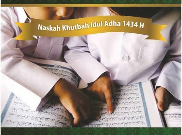 naskah_khutbah_idul_adha_1434_H_-_Wahdah_Islamiyah