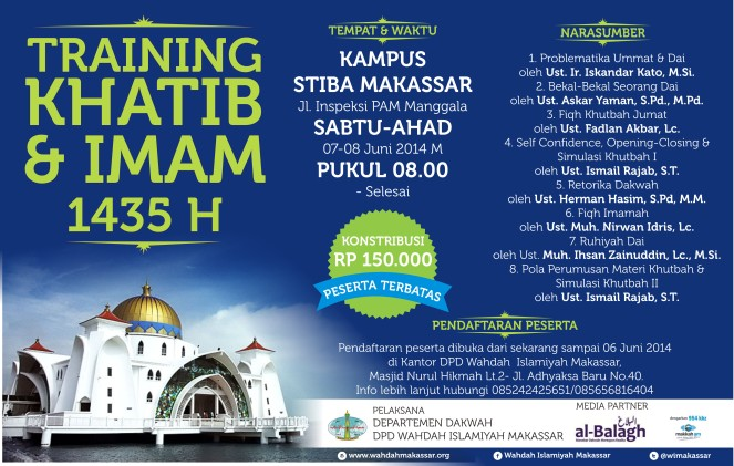 Training Khatib DAN Imam 1435 H Versi 5